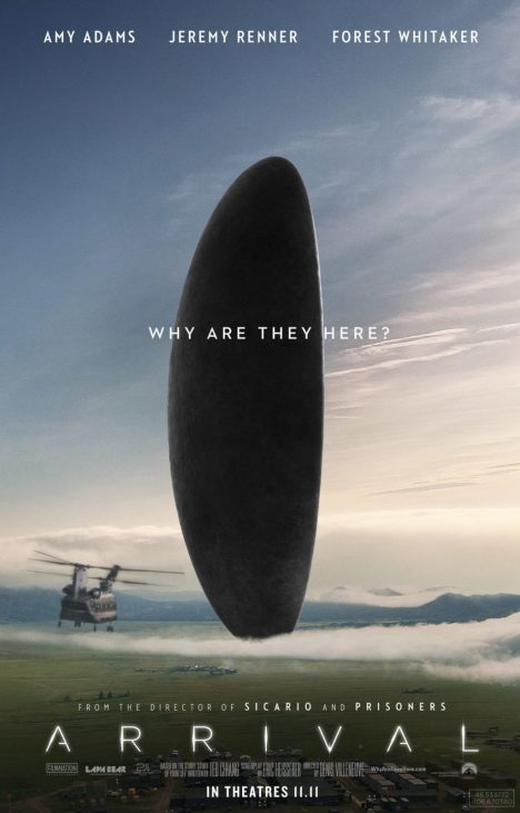 Arrival Official Poster
