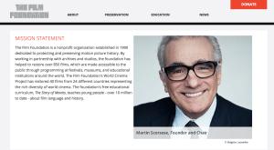 Martin Scorsese fundation