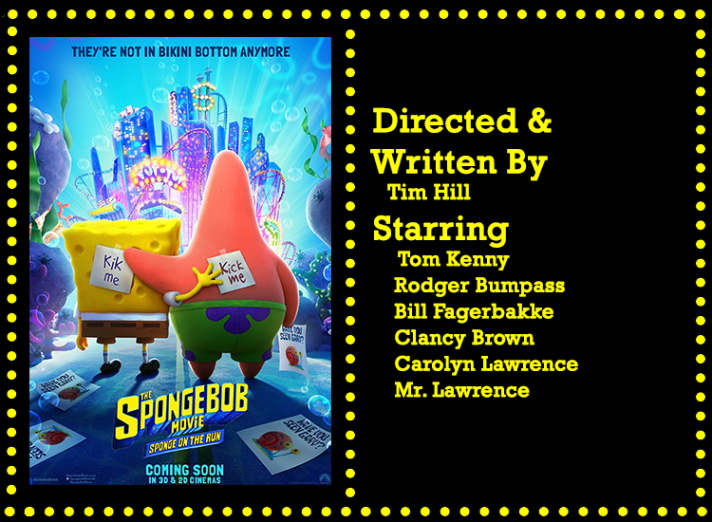 The SpongeBob Movie Sponge On The Run Info