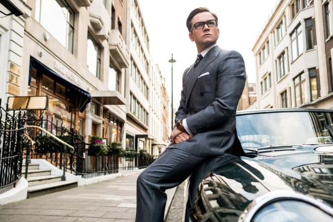 Taron Egerton in Kingsman The Golden Circle