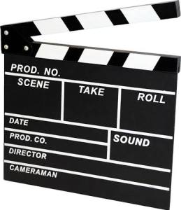 Personalised Clapperboard