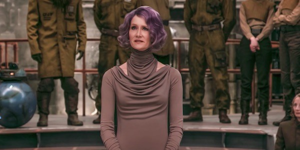 Laura Dern in Star Wars: The Last Jedi