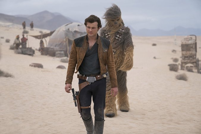 Han Solo and Chewie in Solo: A Star Wars Story