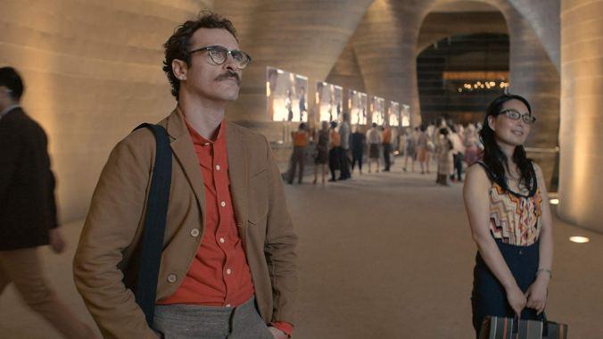 Joaquin Phoenix in Her