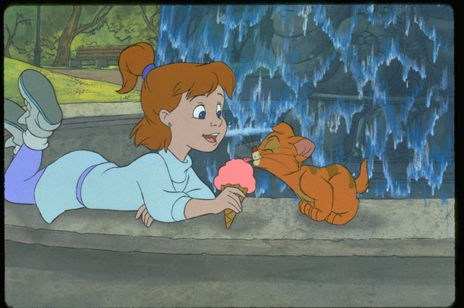 Still from Oliver & Company