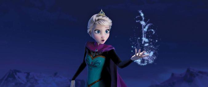 Still from Frozen movie