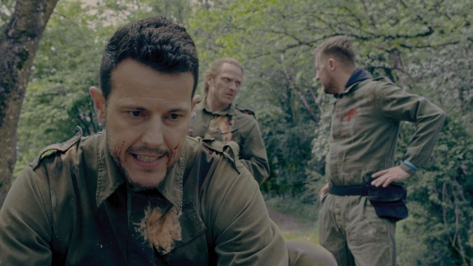 Lee Latchford-Evans in Paintball Massacre