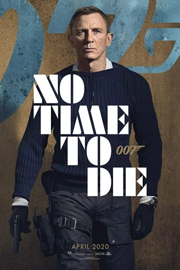 no time to die postert