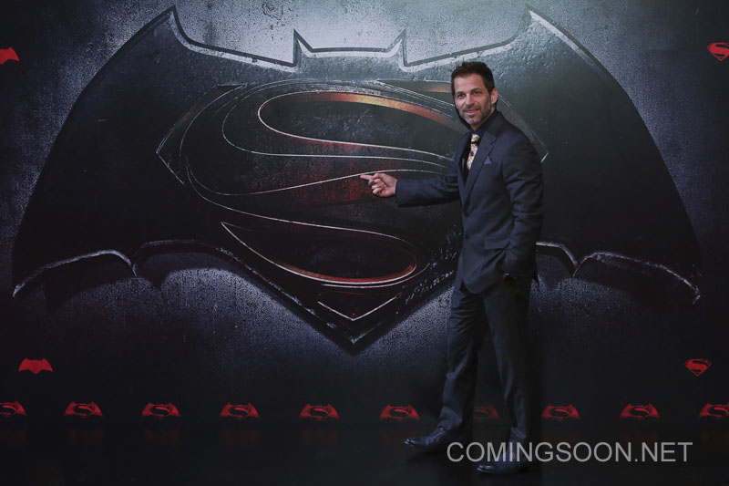 MEXICO CITY, MEXICO - MARCH 19: Film Director, Zach Snyder during the Batman v Superman Premiere at Auditorio Nacional on March 19, 2016 in Mexico City, Mexico. (Photo by Hector Vivas/LatinContent/Getty Images)