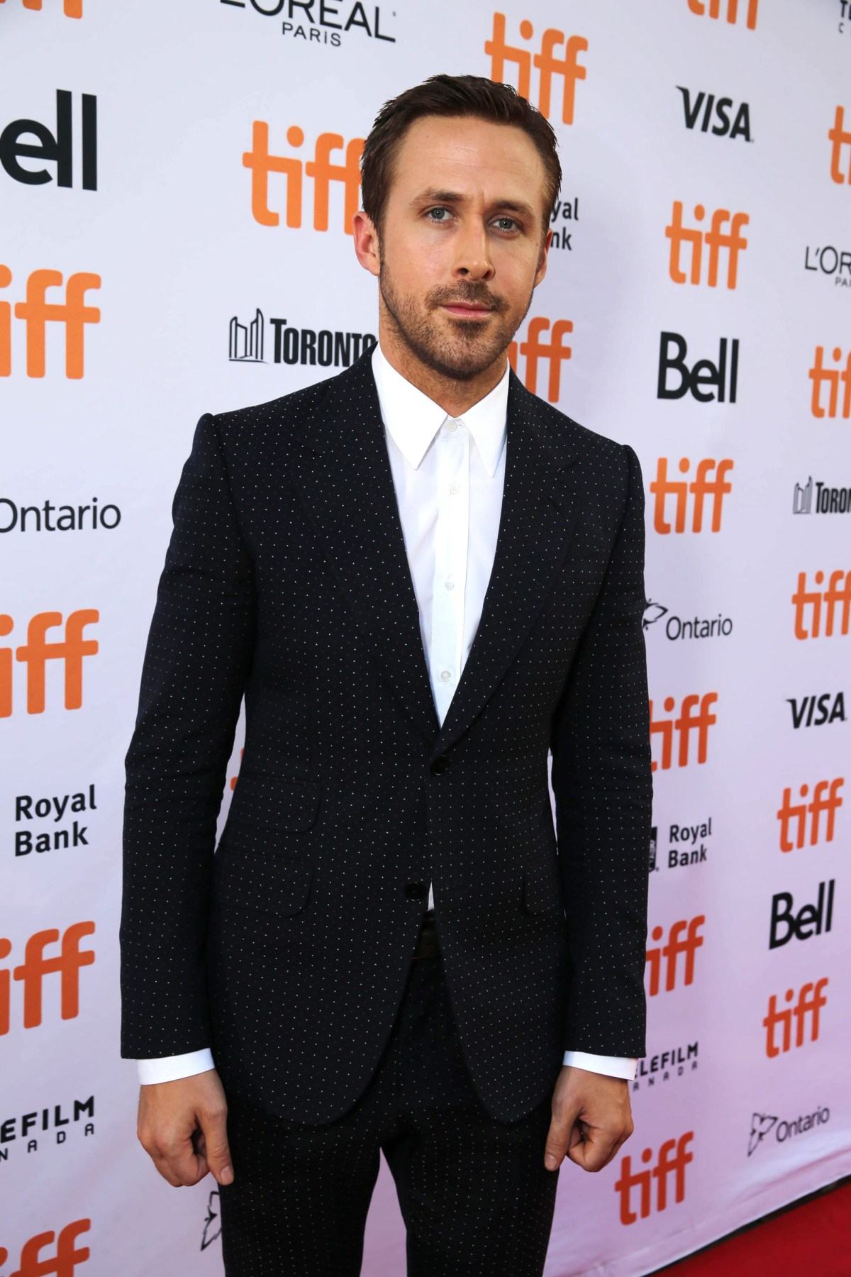"""Ryan Gosling seen at Summit Entertainment's """"La La Land"""" premiere at the 2016 Toronto International Film Festival on Monday, Sept. 12, 2016, in Toronto. (Photo by Eric Charbonneau/Invision for LionsgateAP Images)"""