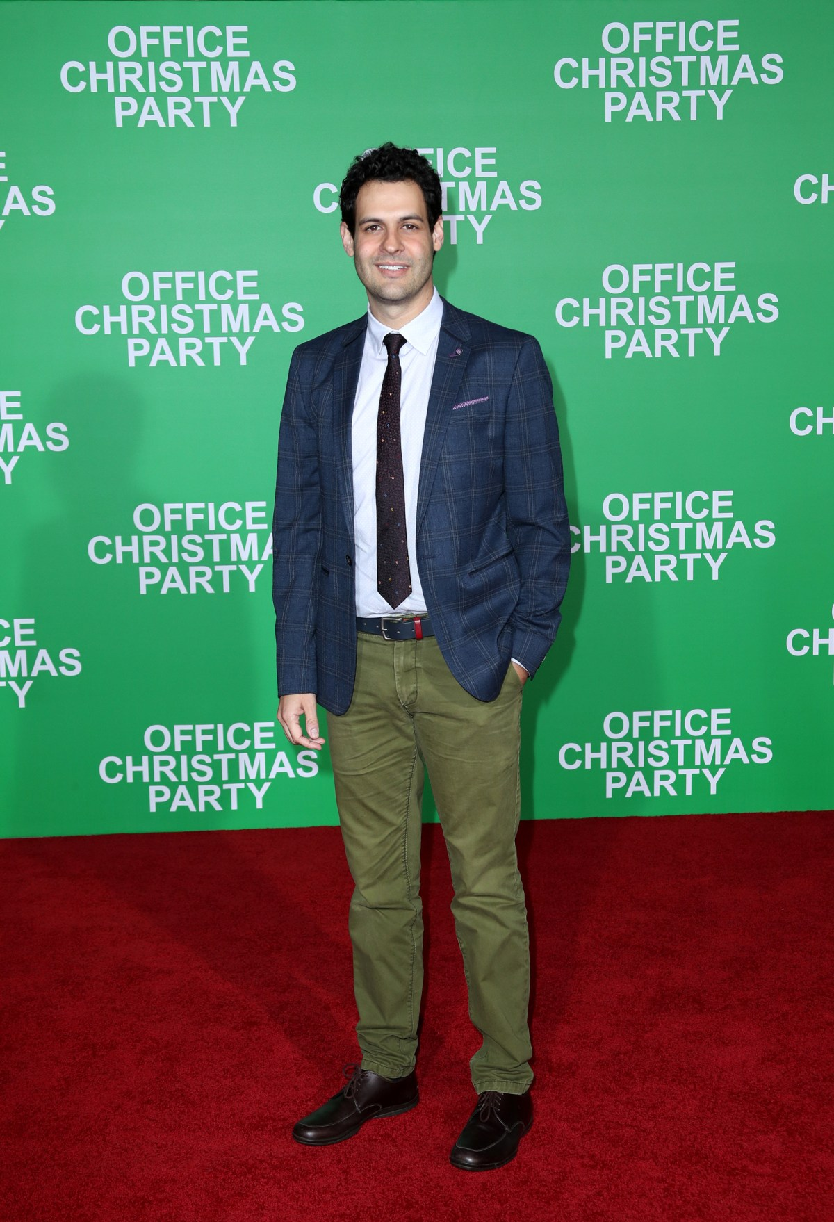 """WESTWOOD, CA - DECEMBER 07:  Actor Andrew Leeds attends the LA Premiere of Paramount Pictures """"Office Christmas Party"""" at Regency Village Theatre on December 7, 2016 in Westwood, California.  (Photo by Jonathan Leibson/Getty Images for Paramount Pictures) *** Local Caption *** Andrew Leeds"""