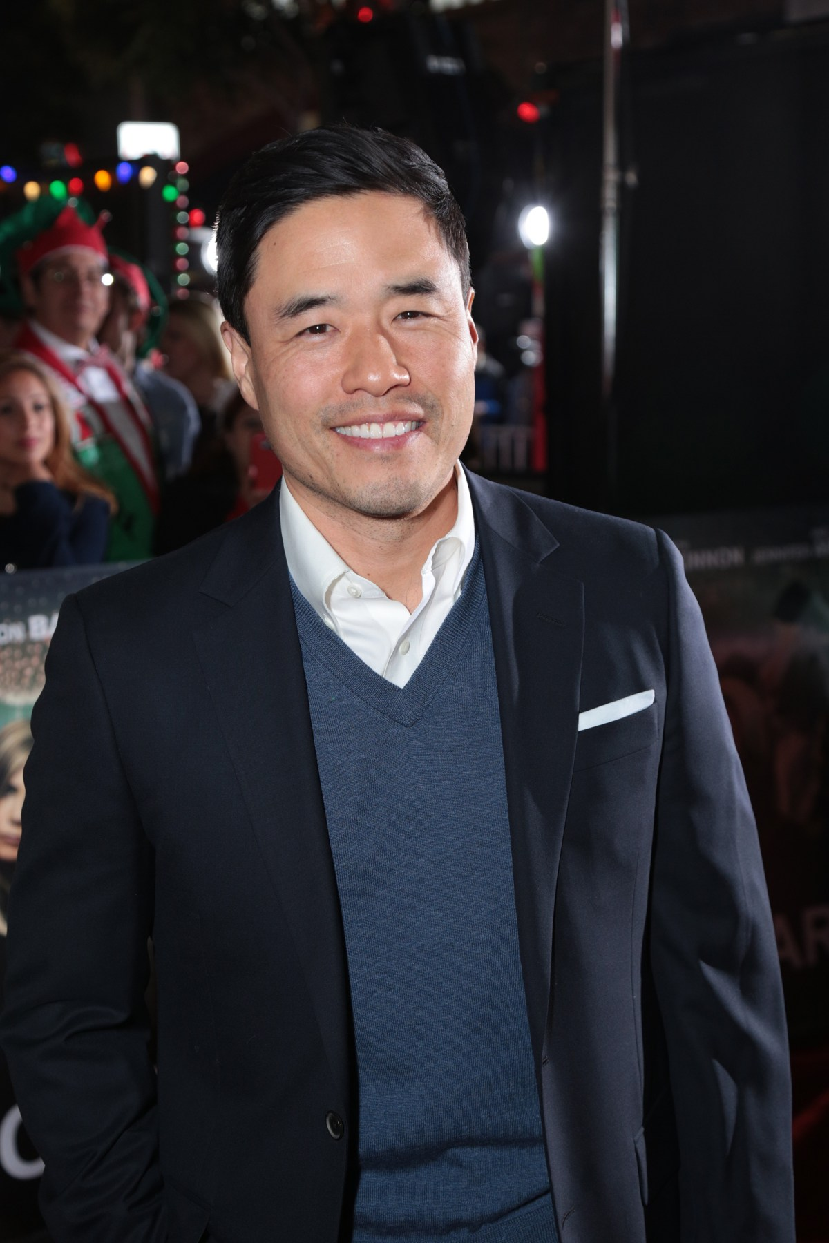 "Randall Park poses as Paramount Pictures presents the Los Angeles premiere of ""Office Christmas Party"" at the Regency Village Theater in Los Angeles, CA on Wednesday, December 7, 2016  (Photo: Alex J. Berliner / ABImages)"