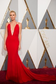 Feb 28, 2016 - Hollywood, California, U.S. - Charlize Theron arrives at The 88th Oscars at the Dolby Theatre. (Credit Image: © AMPAS/ZUMAPRESS.com)