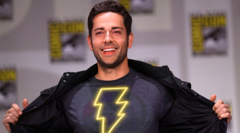 First Official Look at Zachary Levi in His Shazam! Super-Suit