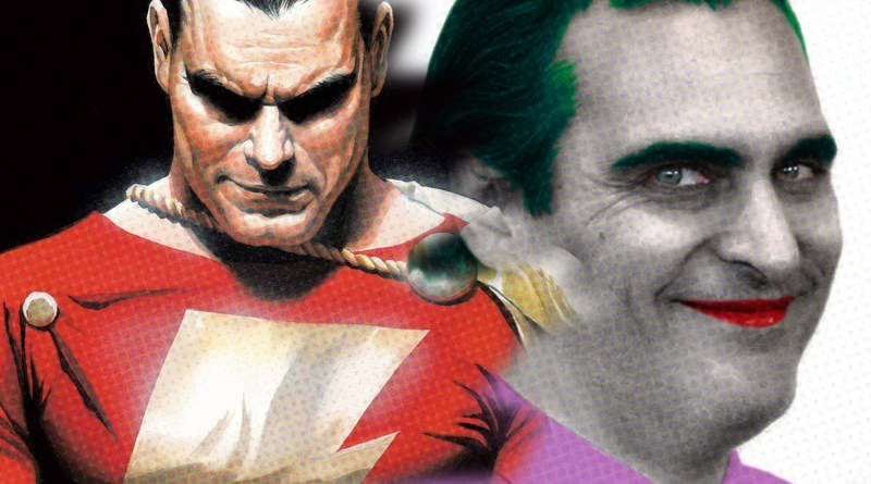 DC Movie Dish: The Joker and Shazam! Updates