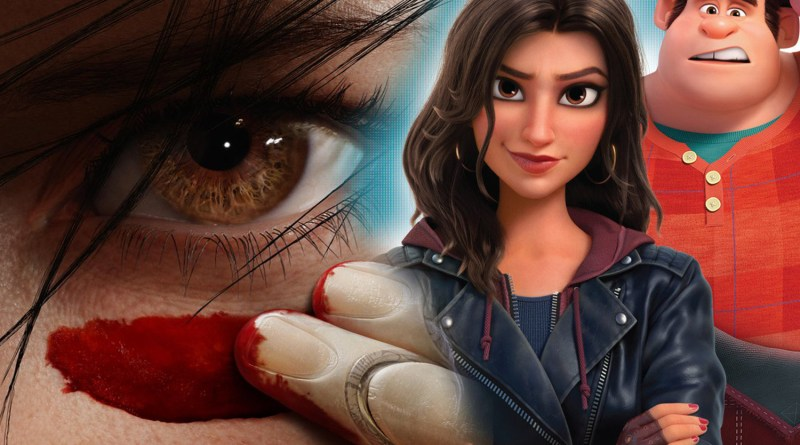 New Movie Posters: Ralph is Confused and Alita is Ready for Battle