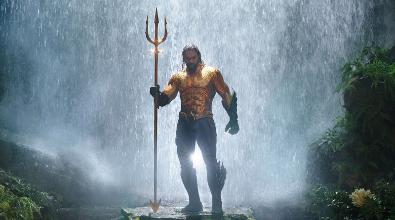 """Aquaman and Mera Face Multiple Threats in New Aquaman Clips and Pitbull Does Toto with """"Ocean to Ocean"""" Track"""