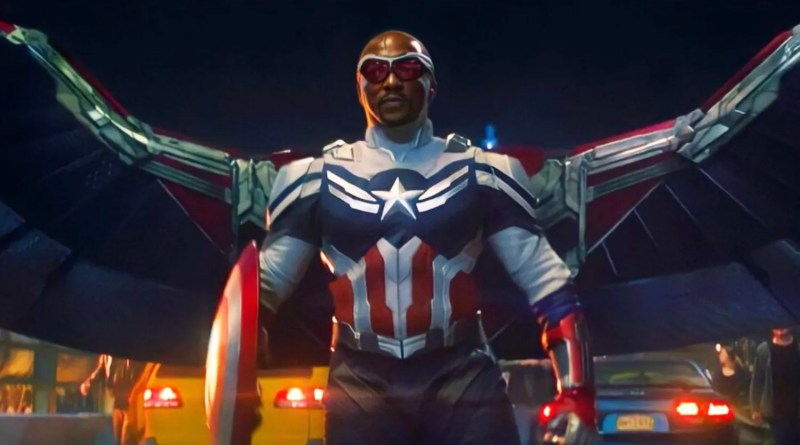 Captain America 4 Starring Anthony Mackie in the Works at Marvel