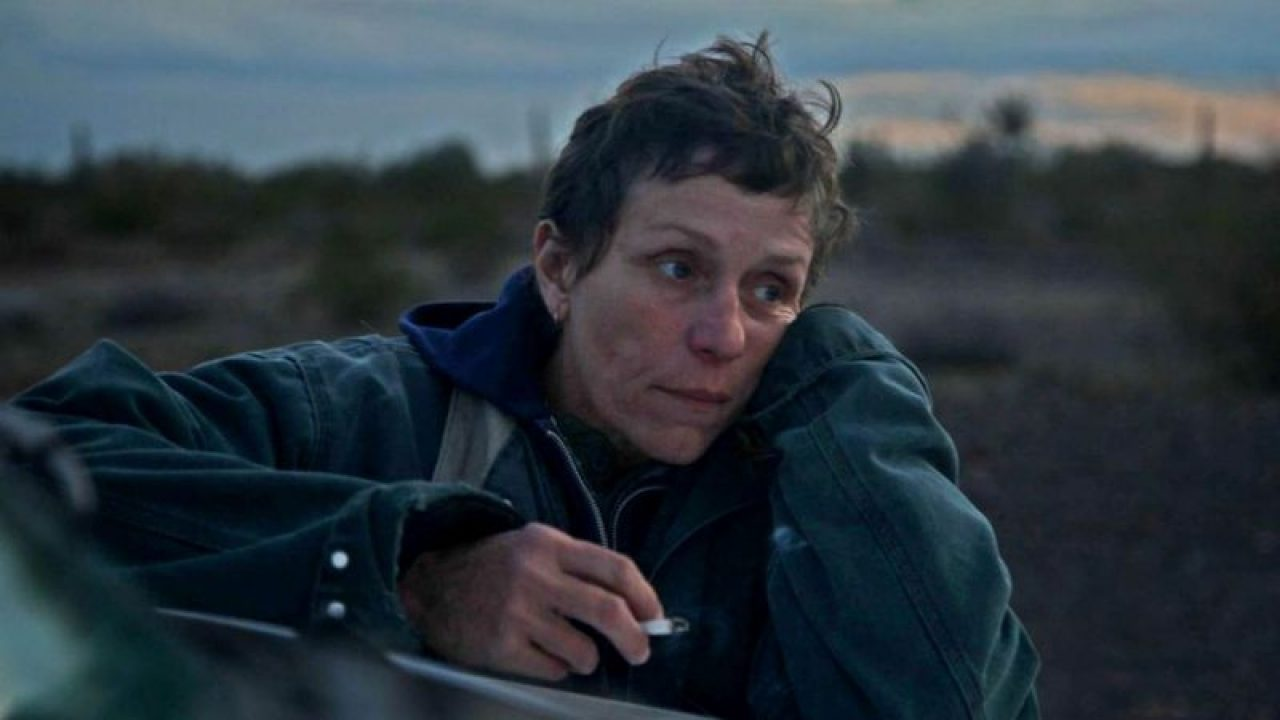 Nomadland, chloe zhao, frances mcdormand, nomadland review, nomadland rating, nomadland cast, nomadland best picture Oscar, the nomadland, nomadland movie, watch nomadland, nomadland Oscar, Oscar, nomadland Disney plus hotstar, nomadland streaming, The father, Minari, Mank, where to watch nomadland, frances mcdormand nomadland, nomadland 2020, promising young woman, nomadland online, oscars 2021, sound of metal,movieping.com,