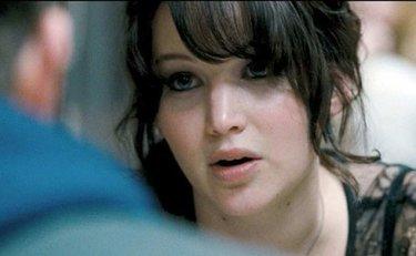 Jennifer Lawrence in a scene from