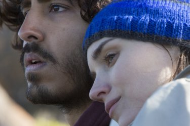 Lion: Dev Patel), and Rooney Mara in a scene from the film