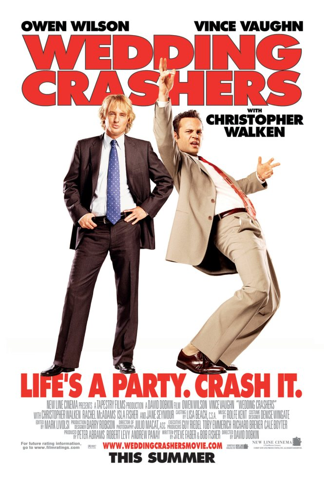 Poster For Wedding Crashers By David Dobkin