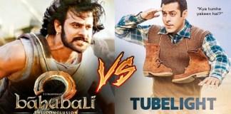 TUBELIGHT VS BAHUBALI 2 VS DANGAL BOXOFFICE COLLECTION