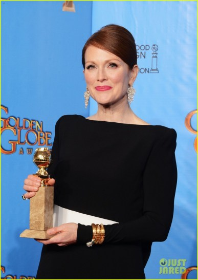 Julianne recieved the Best Actress Golden Globe for Still Alice