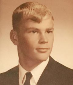 Dad in college.