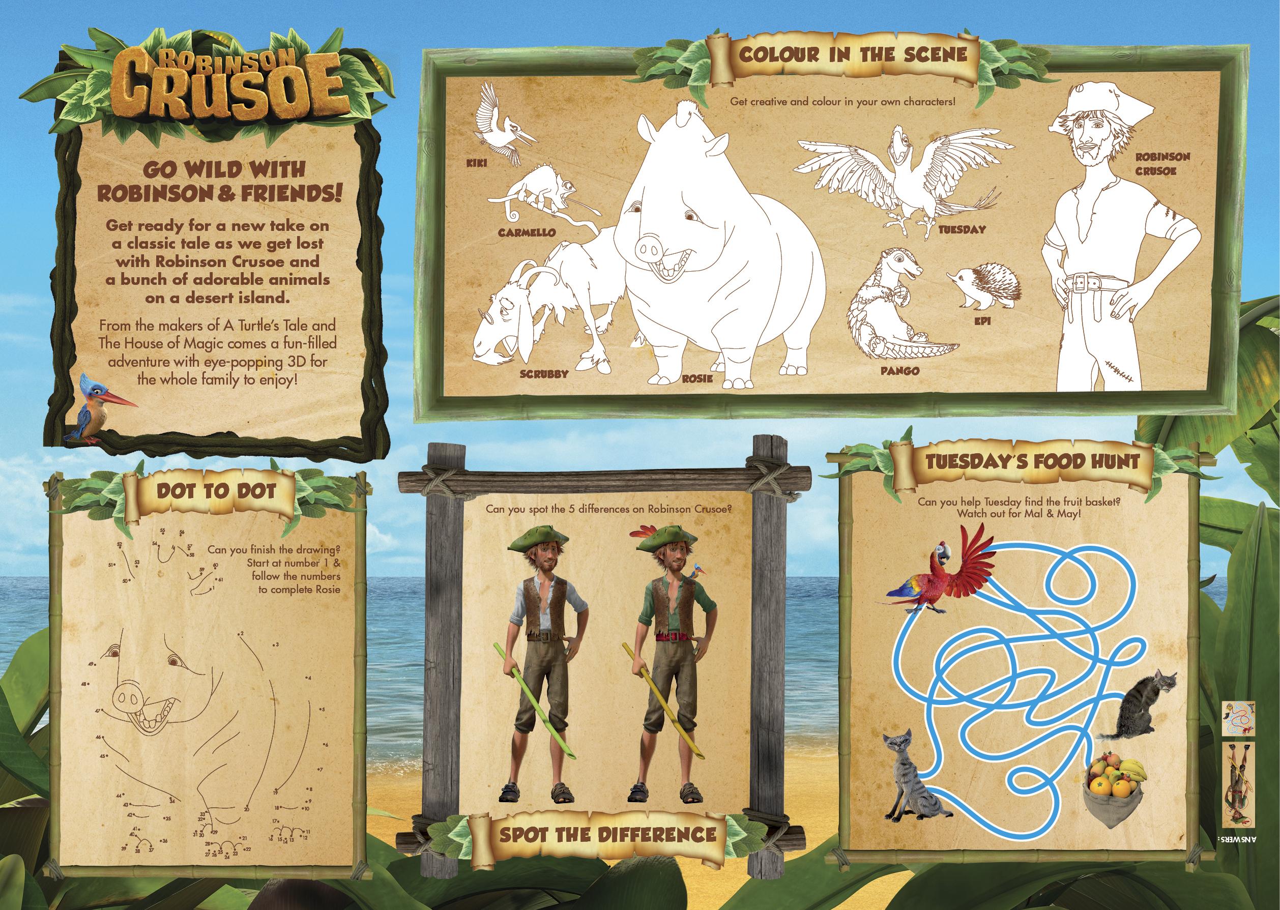 Robinson Crusoe Fun