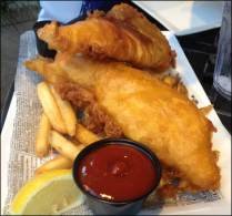 Classic fish n' chips