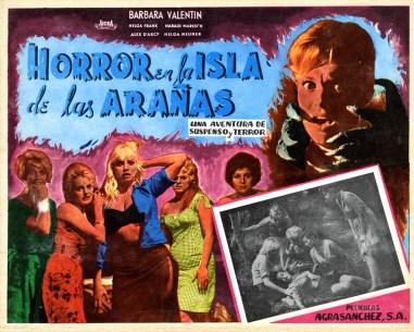Ein Toter Hing Im Netz Horrors of Spider Island - 1960