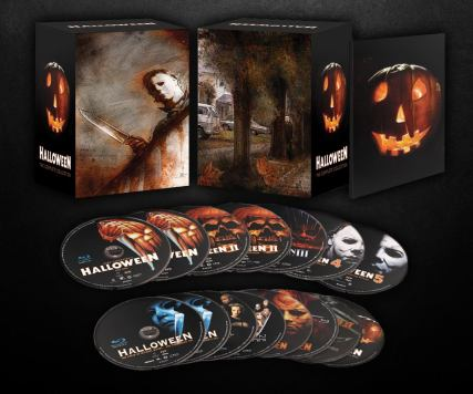 halloween blu-ray box set artwork