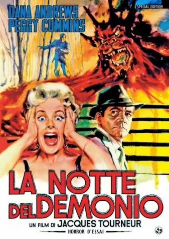 Night Of The Demon (1957) - Italian DVD Poster