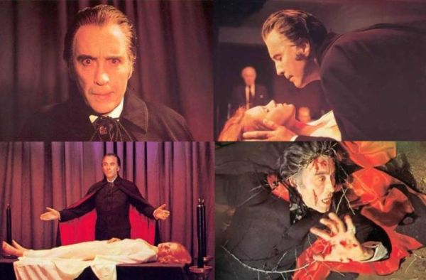 satanic rites of dracula christopher lee four shots