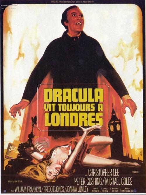 satanic rites of dracula french poster dracula vit toujours a londres