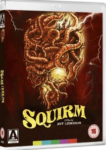 squirm jeff lieberman blu-ray arrow video front cover