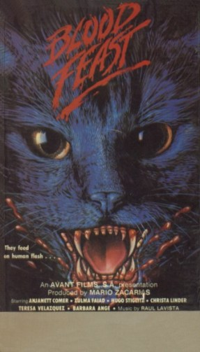 blood feast aka night of a thousand cats vhs front2