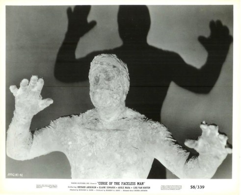 curse of the faceless man 1958 horror film