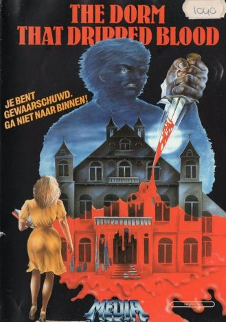 dorm that dripped blood VHS cover