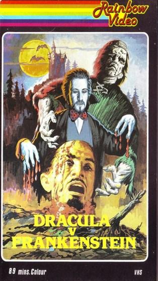 Dracula-vs-Frankenstein-Rainbow-Video-VHS