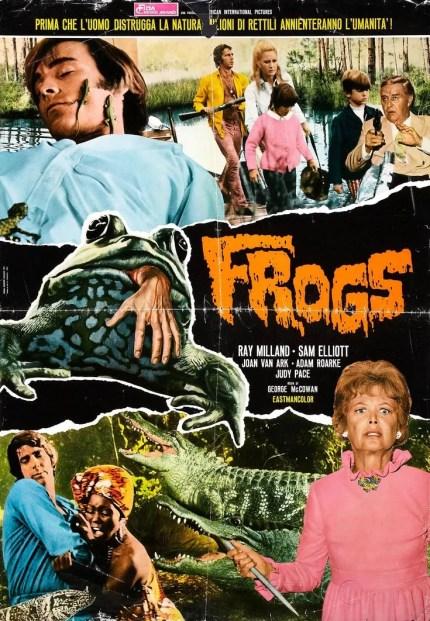 frogs italian fotobusta poster