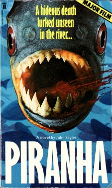 piranha-novel-john-sayles-new-english-library-NEL-paperback
