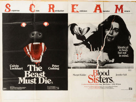 The-Beast-Must-Die-Blood-Sisters-British=quad-poster