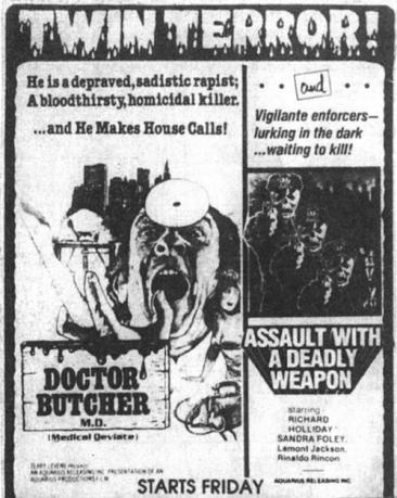 doctor-butcher-m-d-assault-with-a-deadly-weapon-aquarius-releasing-ad-mat