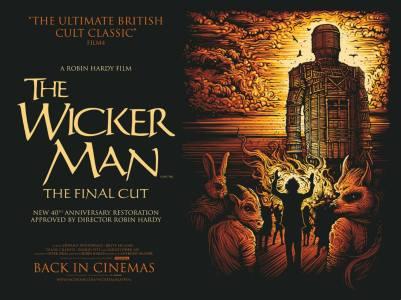 the wicker man final cut british quad poster