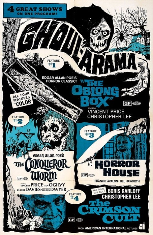 ghoul-arama oblong box conquerer worm horror house crimson cult
