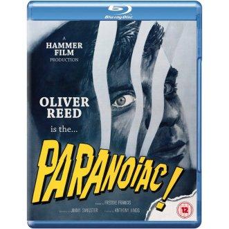 paranoiac british blu-ray