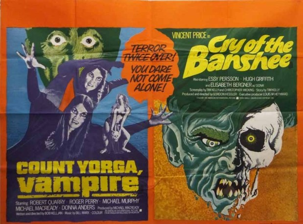 count yorga vampire + cry of the banshee
