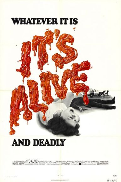 its alive US poster